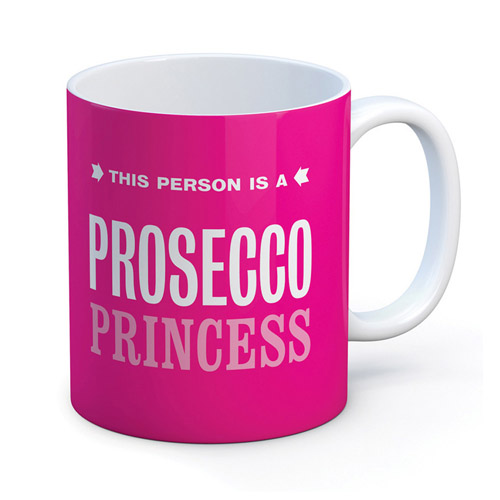 Brainbox Candy Prosecco Princess Mug
