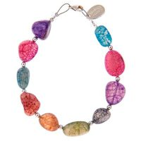 Carrie Elspeth Crackle Agate Bracelet