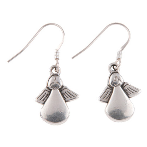 Carrie Elspeth Guardian Angel Earrings
