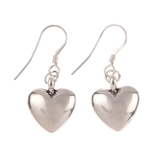 Carrie Elspeth Heart Keepsake Earrings