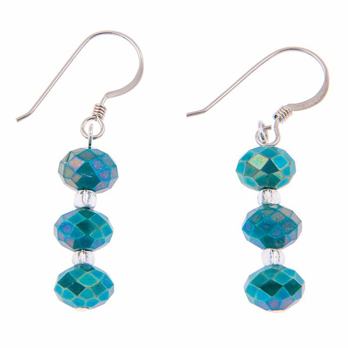 Carrie Elspeth Ultramarine Sparkle Earrings