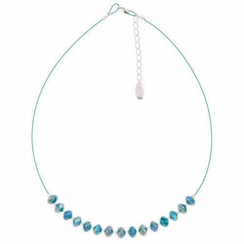 Carrie Elspeth Ultramarine Sparkle Necklace