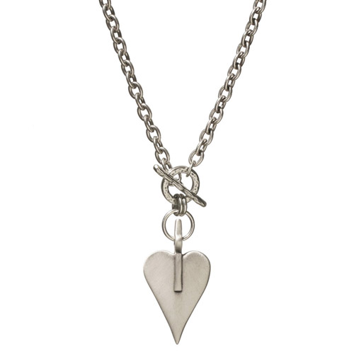 Danon Signature Heart Necklace