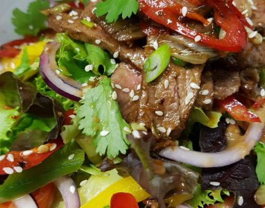 Day Menu Beef Salad