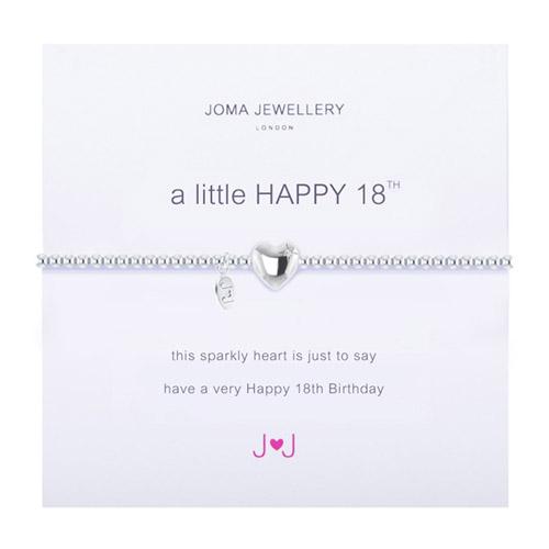 Joma Jewellery A Little Happy 18th Bracelet