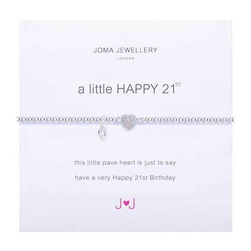 Joma Jewellery A Little Happy 21st Bracelet