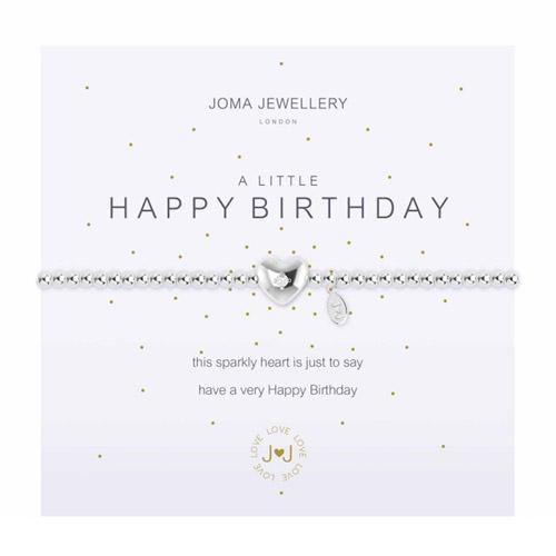 Joma Jewellery A Little Happy Birthday Bracelet
