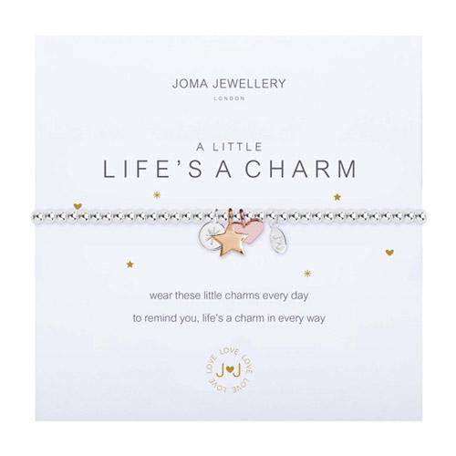 Joma Jewellery A Little Life's a Charm Bracelet