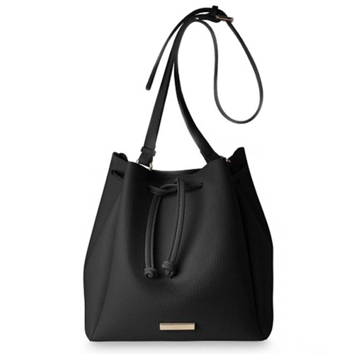 Katie Loxton Chloe Bucket Bag in Black