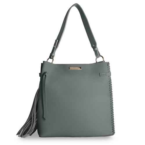 Katie Loxton Florrie Day Bag in Charcoal