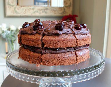No15 Cherry Chocolate Cake
