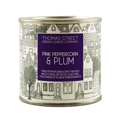 Thomas Street Candles Pink Peppercorn & Plum