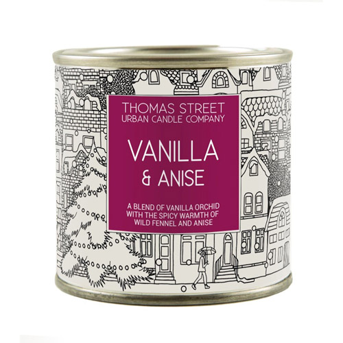 Thomas Street Candles Vanilla & Anise