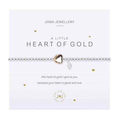 A little Heart Of Gold Earrings By Joma jewellery cewRkjXIkw